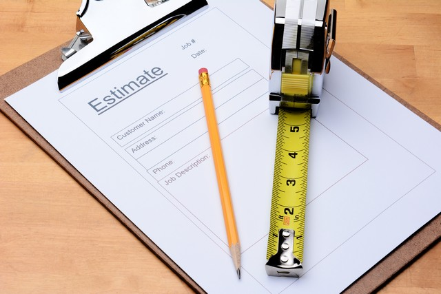 The Contractor Does Not Provide You With A Detailed Estimate!