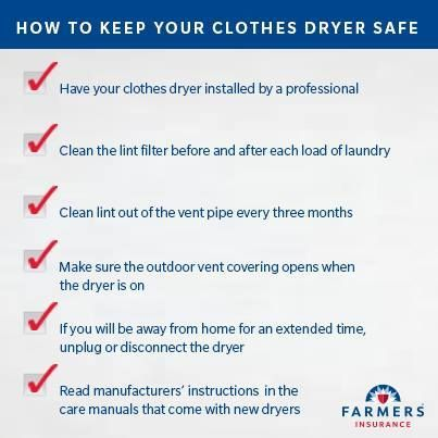 Nine Tips To Prevent Clothes Dryer Fires!
