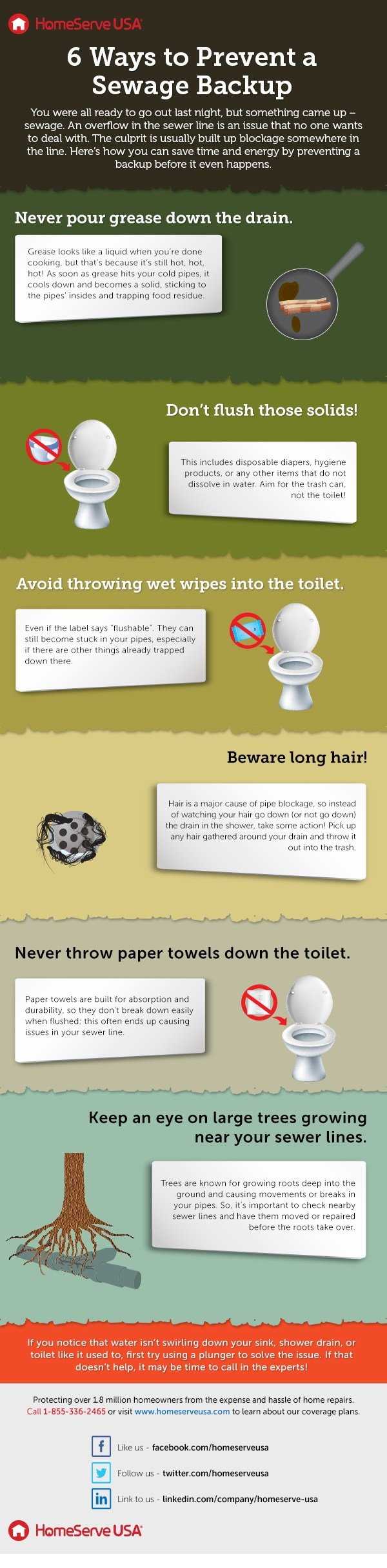 Sewage Backup Prevention Tips